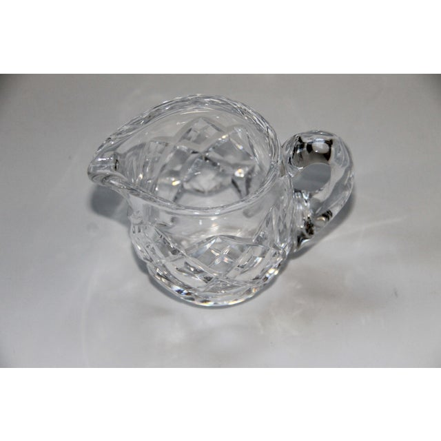 Modern Waterford Crystal Lismore Petite Creamer For Sale - Image 3 of 4