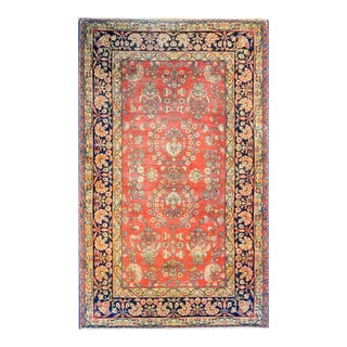 Early 20th Century Persian Kirman Rug For Sale
