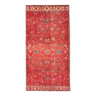 Vintage Turkish Red Rug For Sale