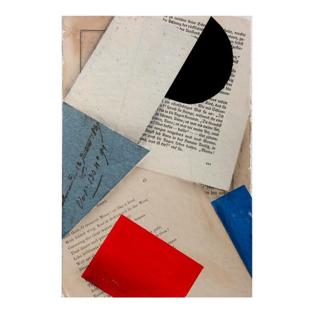 """Contemporary """"FS3197ct12"""" Collage by Cecil Touchon For Sale"""