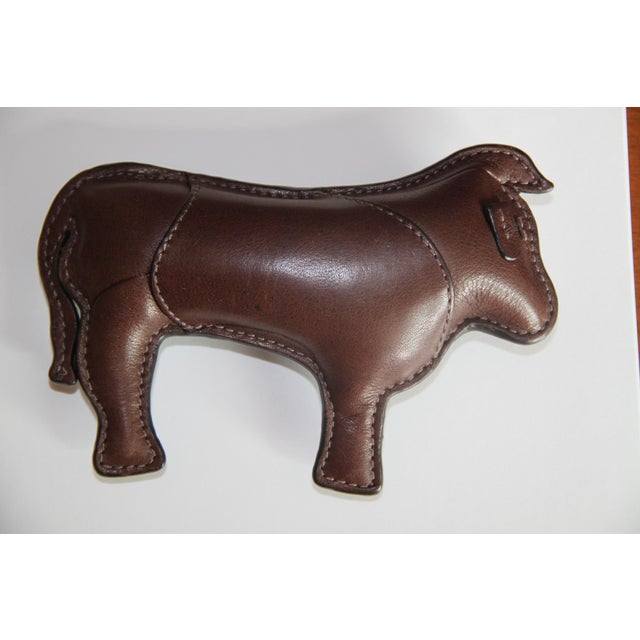 2010s Coach Signature Leather-Embossed Paperweight (Year of the Ox) For Sale - Image 5 of 7