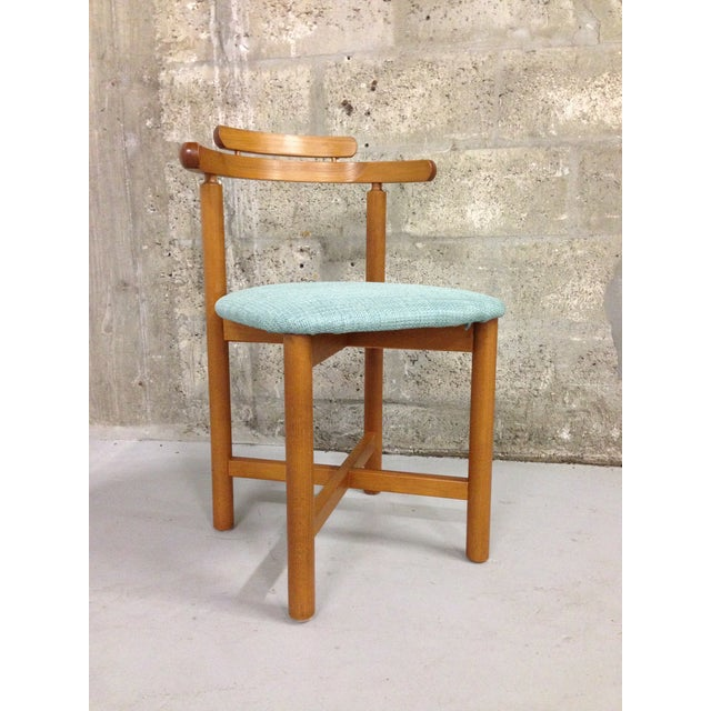 Vintage Danish Mid Century Modern Dining Chair - Image 3 of 9