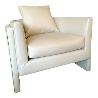 Leather Bangle Chair For Sale