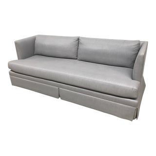 Mitchell Gold + Bob Williams Modern Mariella Skirted Sofa For Sale