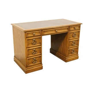 Late 20th Century Vintage Sligh Furniture Partner Desk For Sale