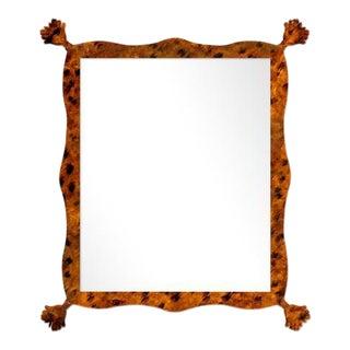 Fleur Home x Chairish Iko Iko Rectangle Mirror in Tortoise, 39x51 For Sale