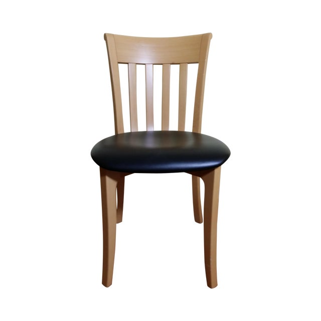 Potocco Modern Italian Dining Chairs - Set of 6 - Image 1 of 7