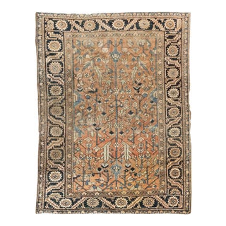 Early 20th Century Heriz Rug For Sale