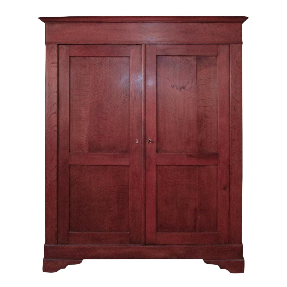 Attractive 19th Century French Pine Armoire