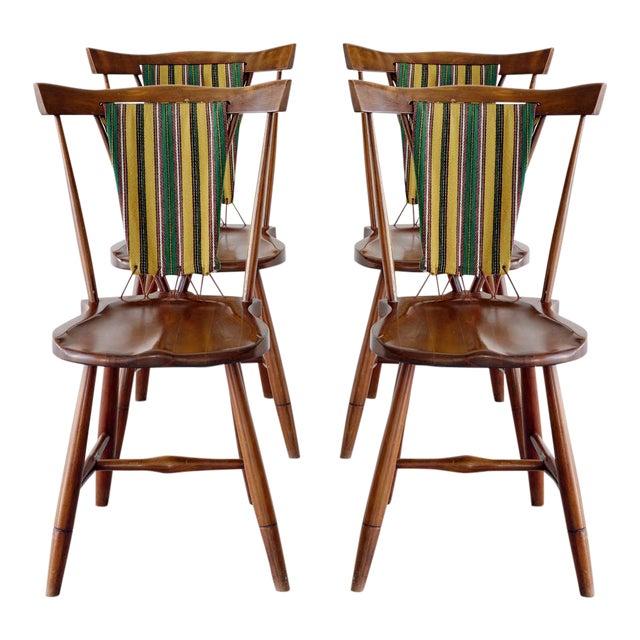 Set of Koppel Chairs for Slagelse Møbelvaerk For Sale