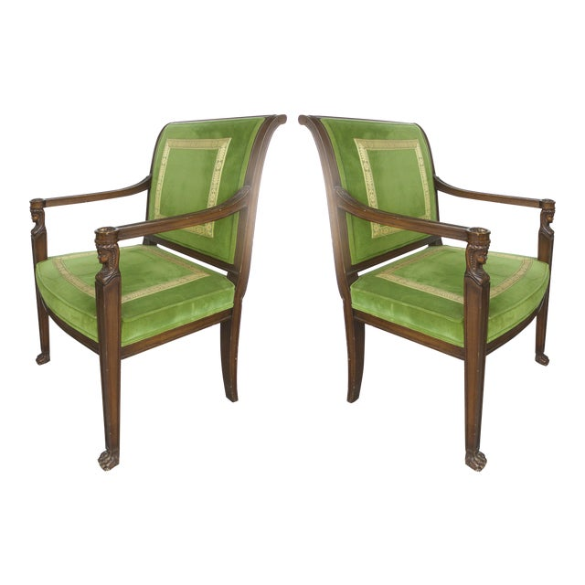 Cocheo Bros, Fine Quality Chairs - A Pair For Sale
