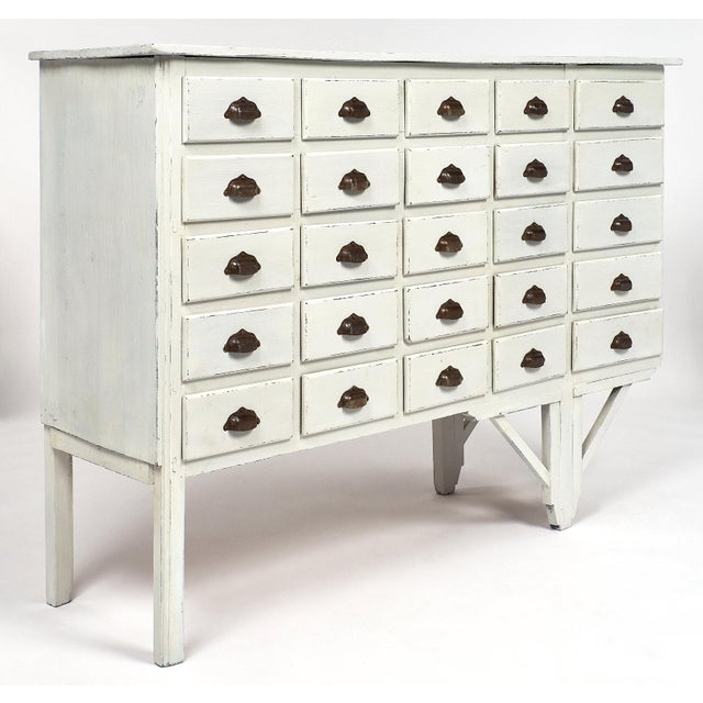 French Antique French Haberdashery Cabinet For Sale - Image 3 of 11