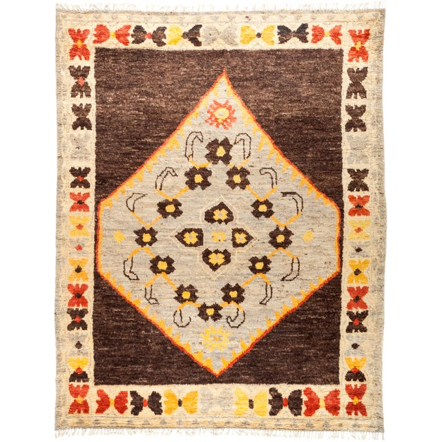 "Tullu Hand Knotted Area Rug - 8' 10"" X 11' 3"" - Image 4 of 4"