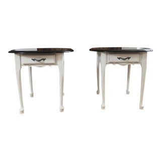 French Country Side Tables - a Pair For Sale