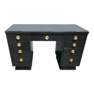Art Deco Style Desk in the Manner of Norman Bel Geddes For Sale