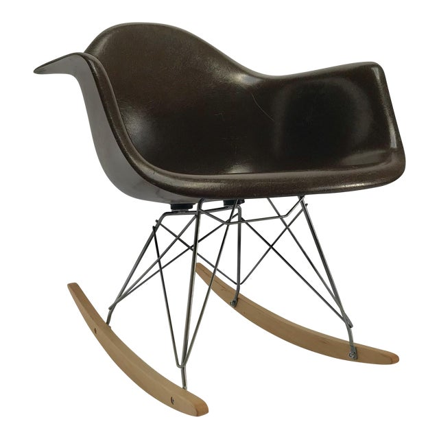 Vintage Eames Rocking Chair For Sale