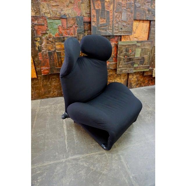 "Modern Toshiyuki Kita ""Wink"" Convertible Lounge Chair 1980's For Sale - Image 3 of 9"