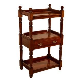19th C English Mahogany Shelf For Sale