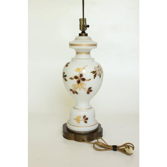 Metal Bavarian Bristol Gold Gilded Table Lamp For Sale - Image 7 of 7