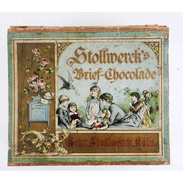 Antique German Chocolate Box For Sale In San Antonio - Image 6 of 6
