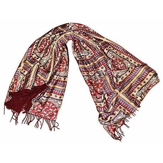 Ferragamo Silk Cashmere Pashmina Throw - Image 1 of 7