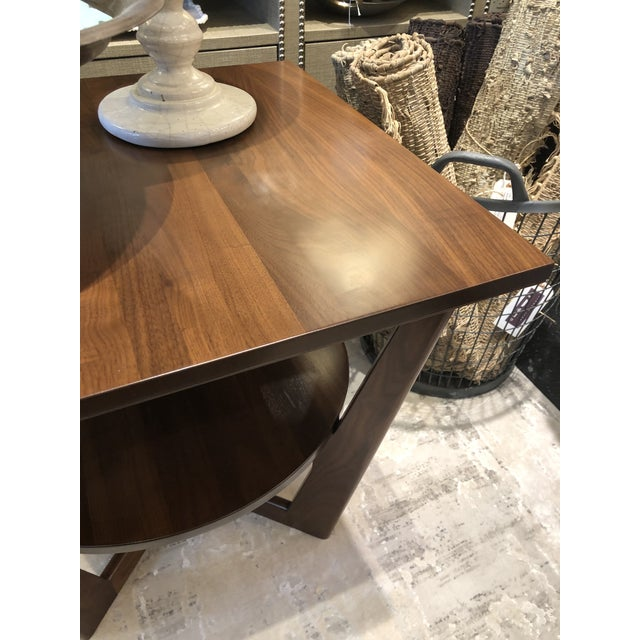Contemporary Borkholder Walnut Aero End Table For Sale In Chicago - Image 6 of 7