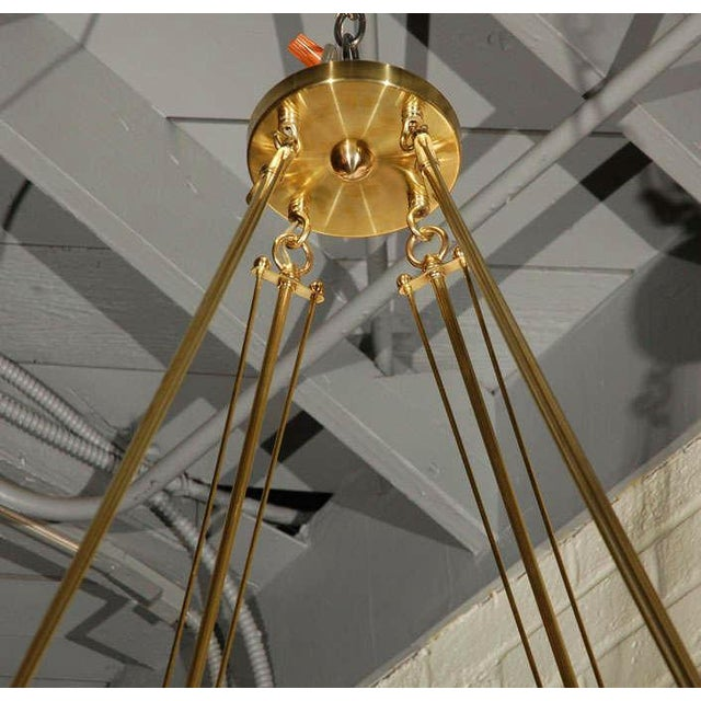 Not Yet Made - Made To Order Paul Marra Boch Chandelier in Distressed Natural For Sale - Image 5 of 7