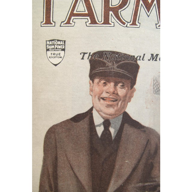 1919 Original Vintage Farm and Home Magazine Cover, March Edition - J.F Kernan - Image 6 of 6