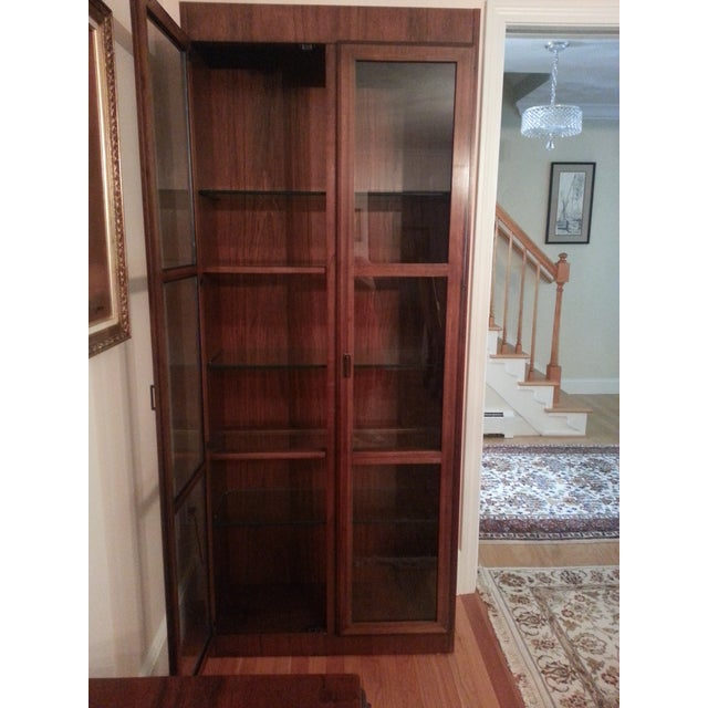 Mid-Century Modern Founders Crystal Cabinet - Image 7 of 8