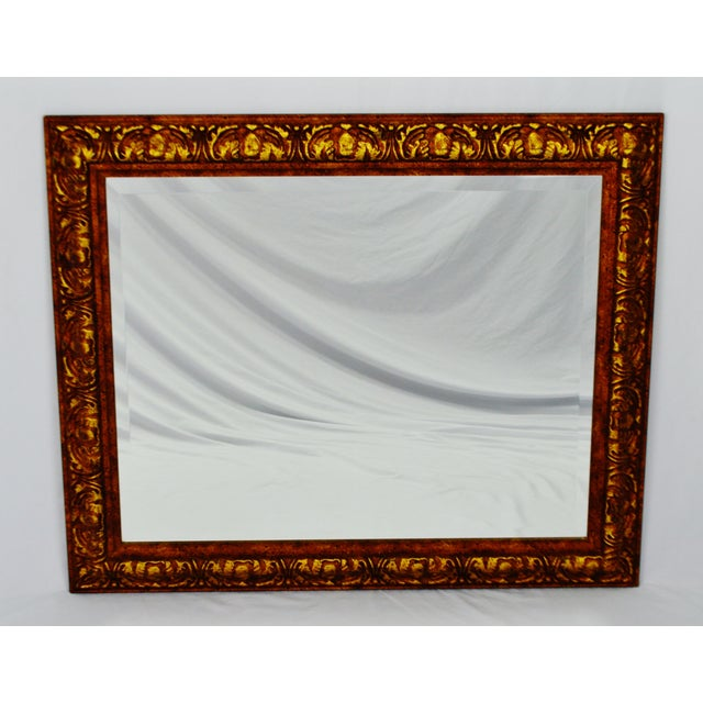 Decoratively Framed Bevelled Wall Mirror 34 x 28 - Image 2 of 8