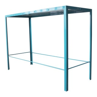 Steel Console Table by Rehab Vintage