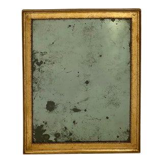 18th Century Gold Leafed Antique French Mirror For Sale