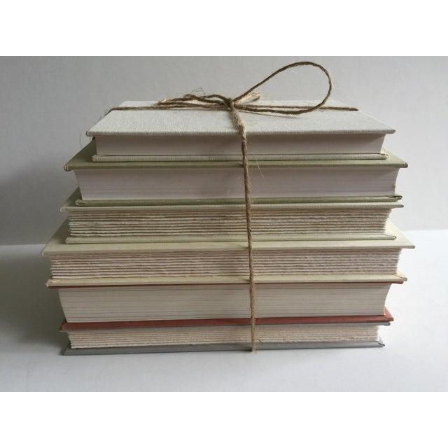 Literary Cream & White Fiction Hardbound Books - Set of 6 - Image 3 of 3