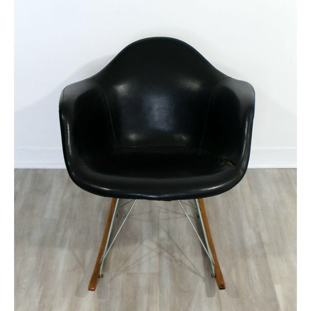 Mid-Century Modern Mid Century Modern Early Charles Eames Eiffel Tower Rocker Rocking Chair 1950s For Sale - Image 3 of 7