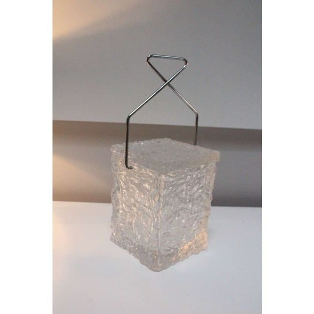 Mid-Century Modern Wilardy Lucite Ice Bucket For Sale - Image 3 of 5