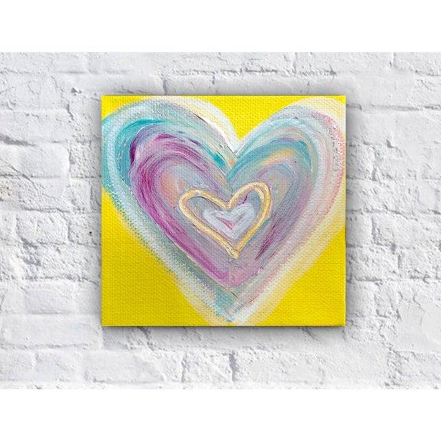 'Summertime Heart' Original Painting by Linnea Heide - Image 4 of 4