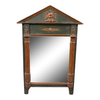 Danish Painted Mirror For Sale