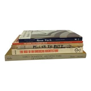 Vintage Architecture Books - Set of 5