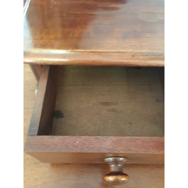 English Antique Mahogany Chest of Drawers With Swing Mirror For Sale - Image 4 of 8