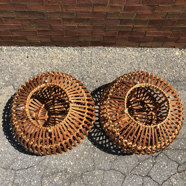 Franco Albini Ottomans, a Pair For Sale - Image 9 of 12
