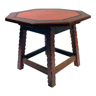 1920's Monterey-Style California Tile Table For Sale