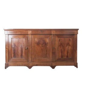 French Late 19th Century Walnut Louis Philippe Enfilade