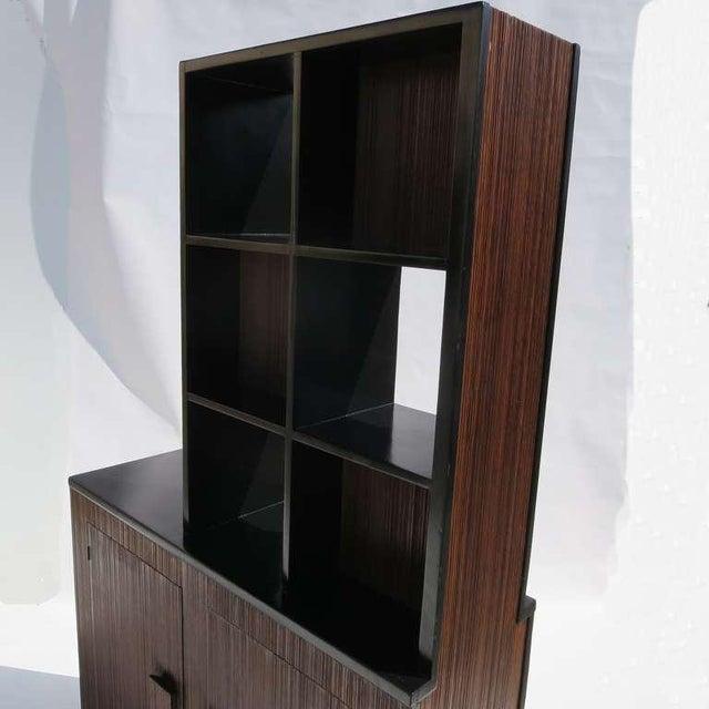 1950s 1950s Paul Frankl Stepped Room Divider Cabinet For Sale - Image 5 of 8