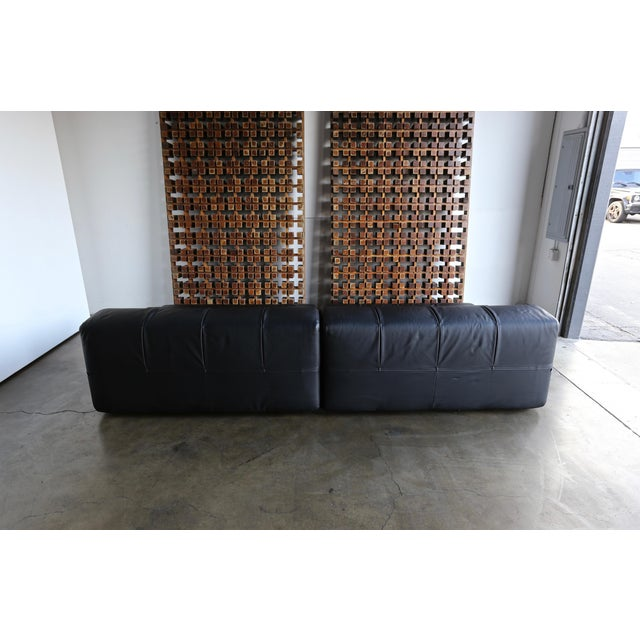 B&b Italia Tufty Time Leather Sofa by Patricia Urquiola For Sale In Los Angeles - Image 6 of 10