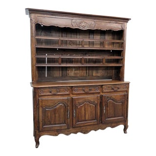 Antique 18thC Country French Hutch For Sale