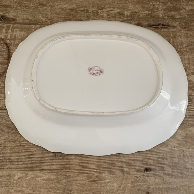 Antique English Minton Chinoiserie Platter For Sale In New York - Image 6 of 8