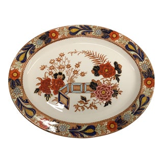Antique English Imari 'Wincanton' Platter