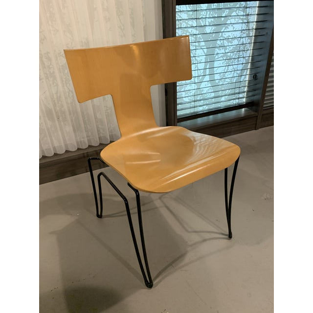 Asian Vintage John Hutton for Donghia Anziano Dining Chair For Sale - Image 3 of 11