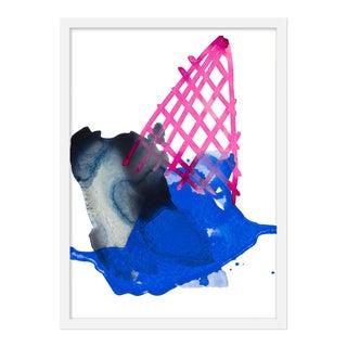 "Medium ""Blackberry Cone"" by Kate Roebuck, 18"" X 25"""