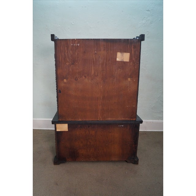 Witco Tiki Elvis Jungle Room Redwood Armoire - Image 9 of 10